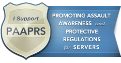 paaprs logo los angeles process server safety campaign